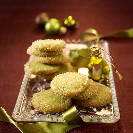 Matcha-Tea-Cookies Rezept
