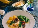 Matjesfilets mit Currysahne Rezept
