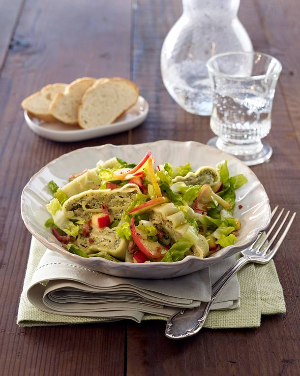 Maultaschen-Salat Rezept