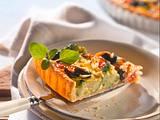 Mediterrane Gemüse-Quiche Rezept
