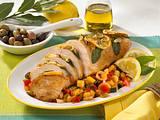 Mediterrane Putenbrust mit Ratatouille Rezept