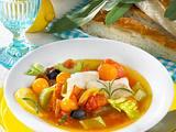 Mediterrane Tomatensuppe Rezept