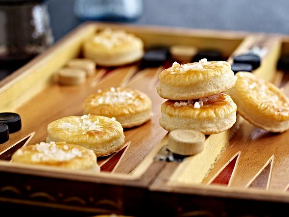 Meerrettich-Cheese-Cracker Rezept