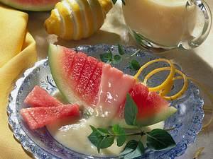 Melone mit Sekt-Zabaione Rezept