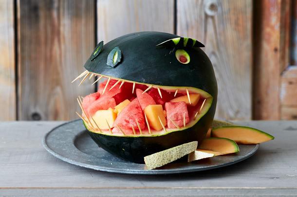 Melonen-Dino Rezept