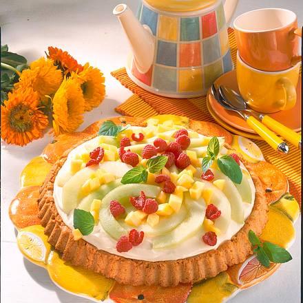 Melonen-Mango-Torte Rezept