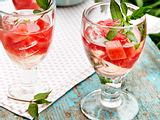 Melonen-Minz-Cocktail Rezept
