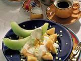 Melonen mit Mascarpone-Creme Rezept