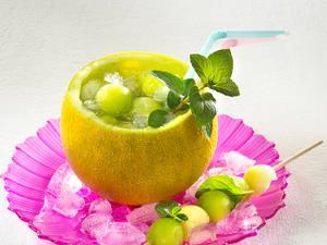 Melonen-Mojito mit Minze Rezept