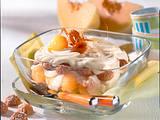 Melonen-Tiramisu Rezept