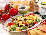 Mexikanischer Nudel-Tomaten-Salat Rezept