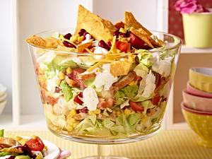 Mexikanischer Schicht-Salat Rezept