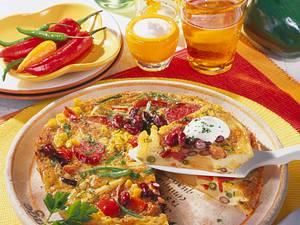 Mexiko-Omelette Rezept