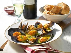 Miesmuscheln nach galicischer Art Rezept