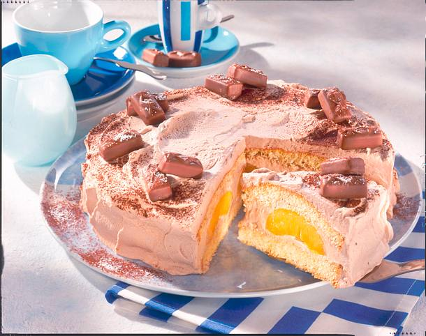 Milky Way-Torte Rezept