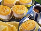 Mini-Biskuittörtchen mit Mango-Mascarpone-Füllung Rezept