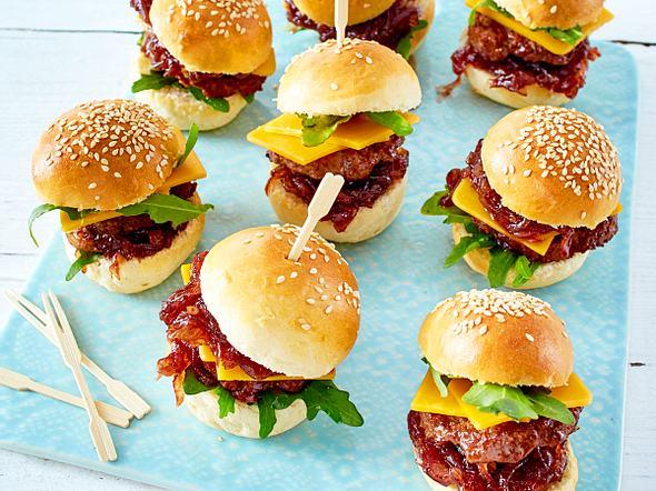 Mini-Burger Rezept