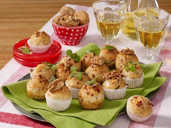 Mini Kräuter Muffins Rezept