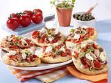 Mini-Pizzen mit Thunfisch Rezept