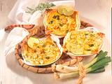 Mini-Sauerkraut-Quiches Rezept