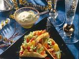 Mini-Taco-Schalen mit Avocado-Dip Rezept