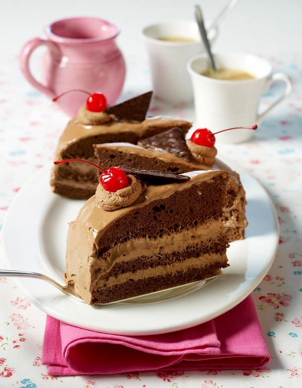 Minz-Schokoladen-Torte Rezept