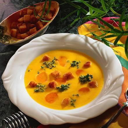 Möhren-Creme-Suppe Rezept