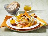 Möhren-Fenchel-Salat mit Orangen und Pecannüssen Rezept