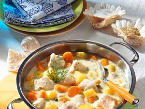 Möhren-Fischragout Rezept