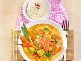 Möhren-Hähnchen-Curry Rezept
