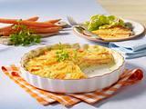 Möhren-Kartoffel-Gratin Rezept