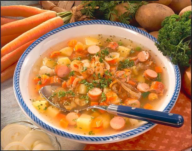 Möhren-Kartoffel-Suppe  Rezept