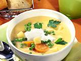 Möhren-Kartoffelsuppe mit Petersilie Rezept