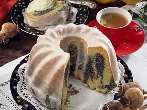 Mohn-Marmorkuchen Rezept