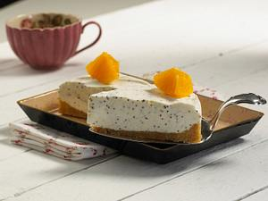 Mohn-Marzipan-Frischkäse-Torte Rezept