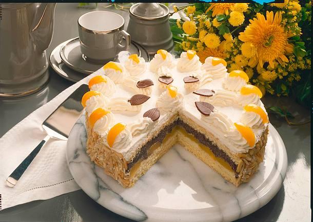 Mohn-Sahne-Torte Rezept