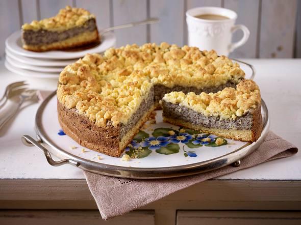 Mohn-Streusel-Kuchen Rezept