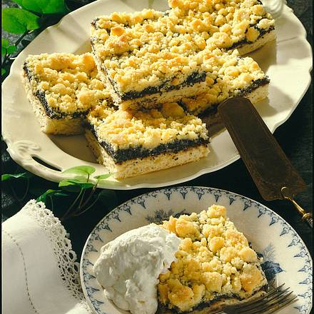 Mohn-Streusel-Kuchen vom Blech Rezept