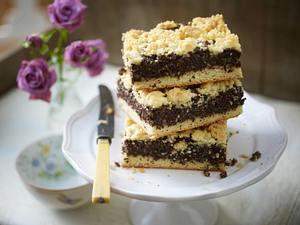 Mohn-Streuselkuchen vom Backblech Rezept