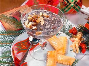 Mohndessert mit mürben Keksen Rezept