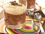 Mokka-Pudding mit Baileys-Sahne Rezept