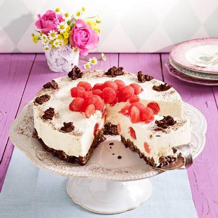 Müsli-Frischkäse-Torte Rezept