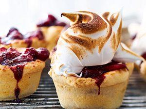 Muffinpies mit Cranberry-Apfelkompott Rezept