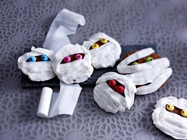 Mumien-Cookies Rezept