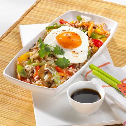 Nasi Goreng mit Tofu Rezept