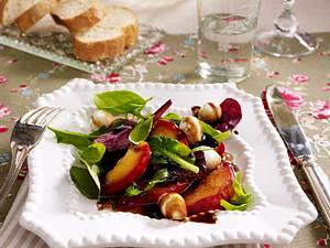 Nektarinen-Mozzarella-Salat Rezept