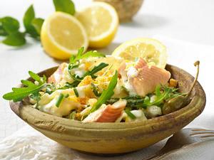 Nudel-Forellen-Salat Rezept