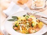 Nudeln in Broccoli-Pilz-Soße (Diabetiker) Rezept