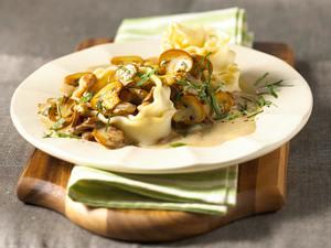 Nudeln in Pilzsoße Rezept