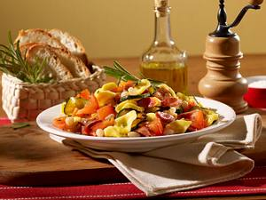 Nudeln mit Bohnen (Pasta e fagioli) Rezept